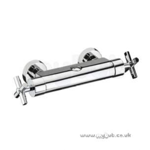 Bristan Showering -  Quadrant Therm Bar Shower Valve Cp