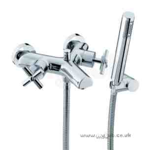 Bristan Brassware -  Quadrant W/m Bath Shower Mixer Cp