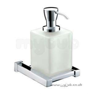 Bristan Accessories -  Bristan Qube Soap Dispensor Cp Qu Soap C
