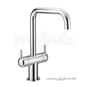 Bristan Brassware -  Fuse Mono Sink Mixer Domed Handle Cp