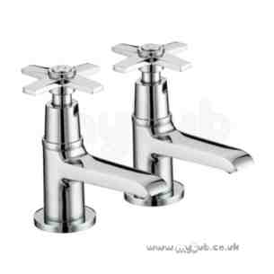 Bristan Brassware -  Twist Basin Taps Chrome Plated Limited Stock