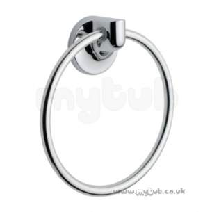 Bristan Accessories -  Bristan Neon Towel Ring Cp