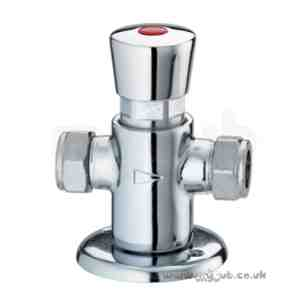 Bristan Brassware -  Self Clos Exposed Shower Valve Cp