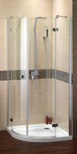 Bristan Showering -  Prism Pmq4 800mm For 4 Part Quadrant