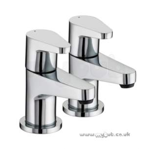 Bristan Quest Bath Taps Chrome Plated Qst 3/4 C