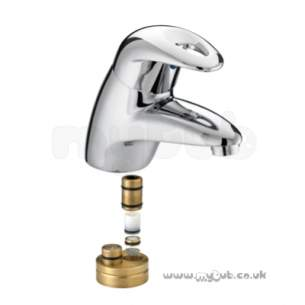 Bristan Brassware -  Java Thermo Basin Mixer Without Waste Cp