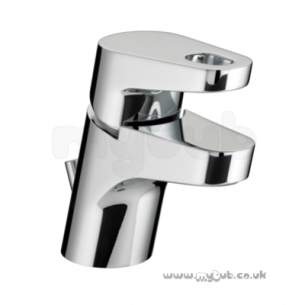 Bristan Brassware -  Synergy Basin Mixer With Pop Up Waste Cp