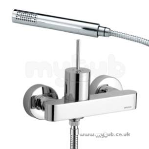 Bristan Brassware -  Profile Wall Mounted Shower Mixer Cp