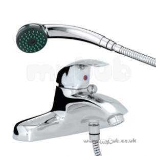 Bristan Brassware -  Java Pillar Bath/shower Mixer Cp