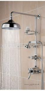 Trinity Tycshxdiv Therm M/d Shower H/set Cp