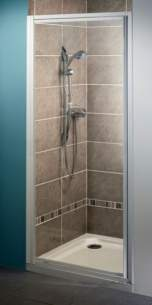 Bristan Showering -  Jute Jusp 900mm Side Panel White