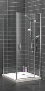 Bristan Showering -  Java Jhcp 800mm Hingd Dr And S/pnl Combi P