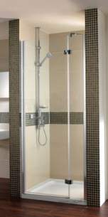 Bristan Showering -  Prism Pmhrr 900mm Hing Dr For Recess Rh