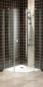 Bristan Showering -  Prism Pmq3 900mm For 3 Part Quadrant Rh