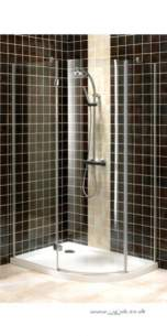 Bristan Showering -  Prism Pmq3 3 Part Offset Quadrant Rh