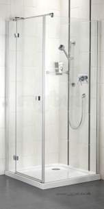 Bristan Showering -  Prism Pmhsr 900mm Hinged Dr For S/pnl Rh