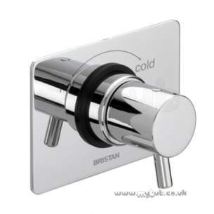 Bristan Showering -  Prism Thermostatic Blending Valve Cp