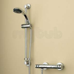 Bristan Showering -  Artisan Thermo Sur/mounted Bar Shower Valv
