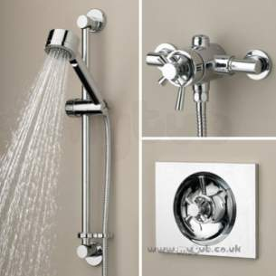 Bristan Showering -  Rio Recessed/surface Mountd Dual Control