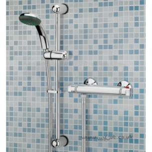 Bristan Showering -  Solo Thermo Bar Shower Valve With Adj Shower