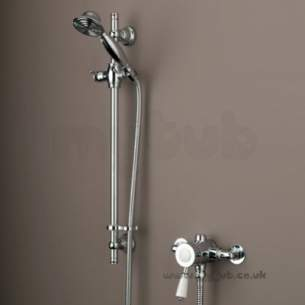 Bristan Showering -  Colonial Single Control Thermo Valve And Riser