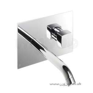 Bristan Brassware -  Js2 2th Wall Mounted Basin Mixer Cp
