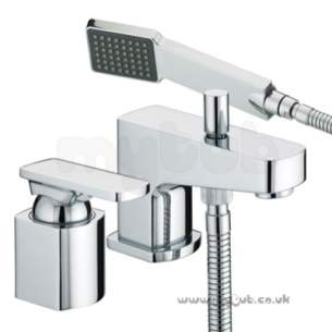 Bristan Brassware -  Olavi 2 Hole Bath Shower Mixer Cp