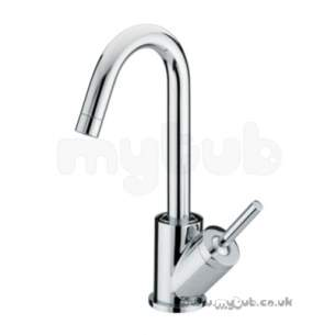 Bristan Brassware -  Soprano Basin Mixer Without Waste Cp Obsolete