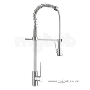 Bristan Brassware -  Vinca Sink Mixer With Pull Out Spray Cp