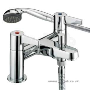 Bristan Brassware -  Design Utility Lever Bath Shower Mixer Cp