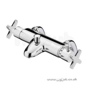 Bristan Brassware -  Design Utility Crosshead Thermo Bath Shower