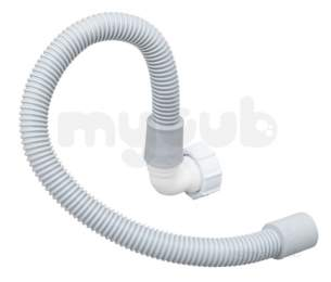 Marley Soil and Waste -  Flex Overflow Pipe And Reducer Wop2w