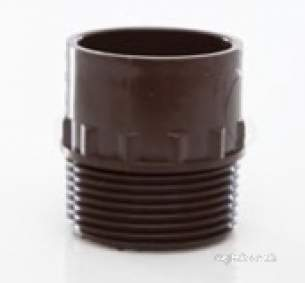 Polypipe Waste and Traps -  Polypipe 40mm Male Iron Adaptor Ws47-g