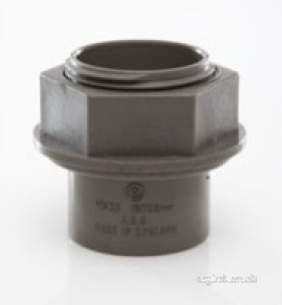 Polypipe Waste and Traps -  40mm Tank Connector Abs Ws36-br Ws36br
