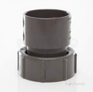 Polypipe Waste and Traps -  32mm Threaded Coupling Abs Ws31-b