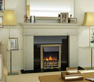 Dimplex Electric Fires -  Dimplex Wynford Optiflame Fire Wyn20ab