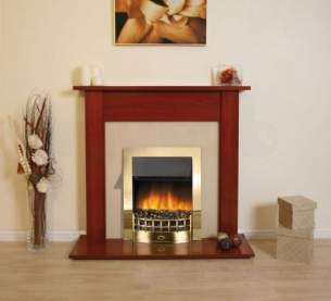 Rob Willey and Grateglow Electric Fires -  Rob Willey Rochford Suite Cherry