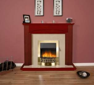 Robinson Willey Gas Fires and Wall Heaters -  Robinson Rw Cosgrove Suite Cherry
