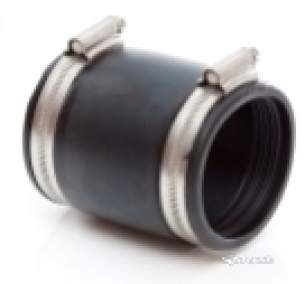 Polyflex Fittings -  Polypipe Flexible Coupler 150mm-165mm