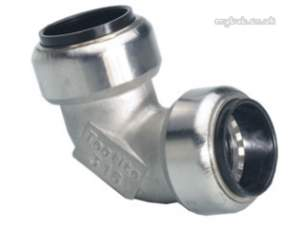Yorkshire Tectite Stainless Steel Pipe Only -  Pegler Yorkshire Yorks Ts12 Ts090 15mm Elbow