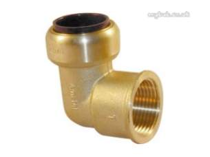Yorkshire Tectite Fittings -  Yorks Tectite Tx14 22mm X 3/4 Inch Fi Elbow