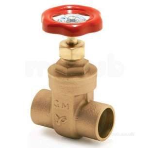 Yorkshire Gate Valves Stopcocks Plugcocks -  Yorks Yp415 Gm 42mm Wh Gate Valve