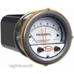 Dwyer Instruments Magnehelic Gauges -  Dwyer A3000 00n Photohelic Gauge 0-0.25 Inch Wg240v