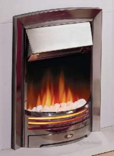 Dimplex Electric Fires -  Adagio Inset Electric Fire Chrome