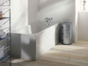 Adamsez Baths and Panels -  Adamsez Slim Sli 1800 X 725mm Bath Wh