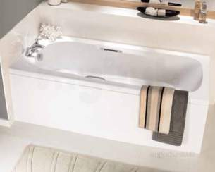 Ideal Standard Acrylic Baths -  Ideal Standard Admiral E4781 1670 X 690 If Plus Tg No Tap Holes Bath Wh
