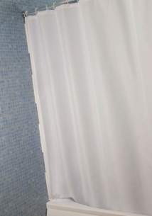 Croydex Shower Curtains and Rails -  Croydex Af284122h Stay Dry Curtain With