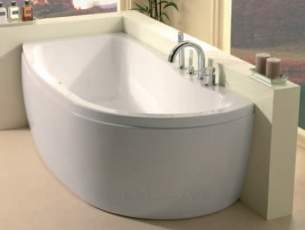 Eastbrook Baths -  23.5301l Agenda Showerbath 1700x800 Lh