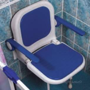 Akw Medicare Products -  04130 Advanced W/m Foldup Seat Moulded Plus