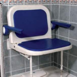 Akw Medicare Products -  04140 Extra Wide Fold Up Moulded Seat Plus